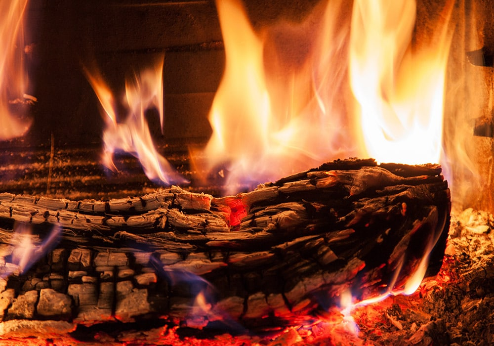 brændene træ