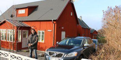 Familien Karlsson i Sverige