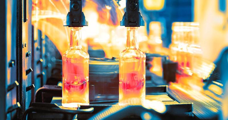 glas produktion