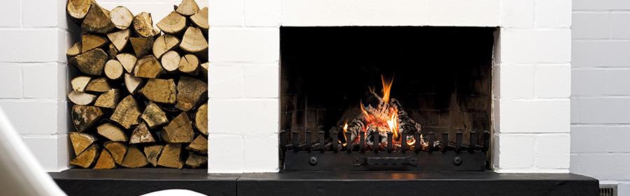 hvid brændeovn cover